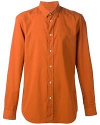 Camisa de Manga Larga Naranja de Maison Margiela