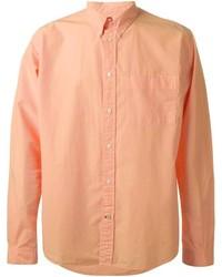 Camisa de manga larga naranja de Paul Smith