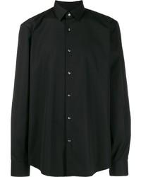 Camisa de manga larga negra de BOSS HUGO BOSS