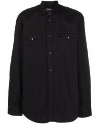 Camisa de manga larga negra de Dondup