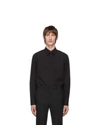 Camisa de manga larga negra de Givenchy