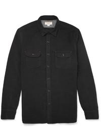 Camisa de manga larga negra de J.Crew