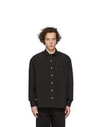 Camisa de manga larga negra de Jacquemus