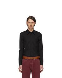 Camisa de manga larga negra de Maison Margiela
