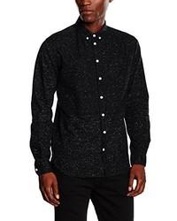 Camisa de manga larga negra de Minimum
