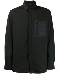 Camisa de manga larga negra de Neil Barrett