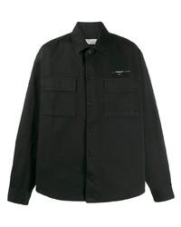 Camisa de manga larga negra de Off-White