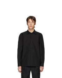 Camisa de manga larga negra de Random Identities