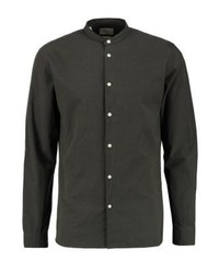 Camisa de Manga Larga Negra de Selected Homme