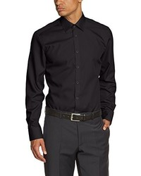 Camisa de manga larga negra de Venti