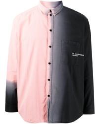 Camisa de manga larga ombre rosada de Henrik Vibskov