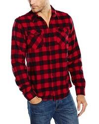 Camisa de manga larga roja de Billabong