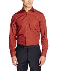 Camisa de manga larga roja de Casamoda