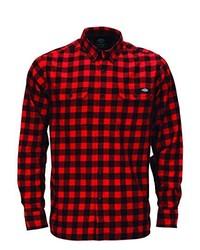Camisa de manga larga roja de Dickies