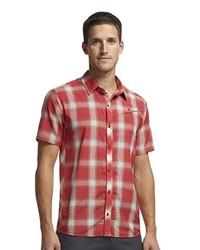 Camisa de manga larga roja de Ice Breaker