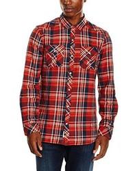 Camisa de manga larga roja de O'Neill