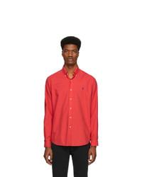 Camisa de manga larga roja de Polo Ralph Lauren