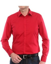 Camisa de manga larga roja de Venti