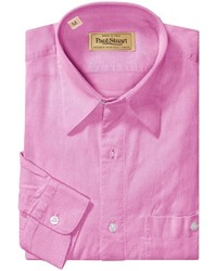 Camisa de manga larga rosa