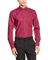 Camisa de manga larga rosa de Casamoda