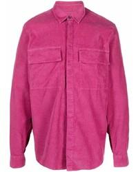 Camisa de manga larga rosa de Dondup
