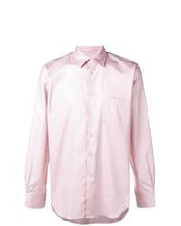 Camisa de manga larga rosada de Junya Watanabe MAN