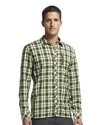 Camisa de manga larga verde oliva de Ice Breaker