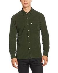 Camisa de manga larga verde oliva de Levi's