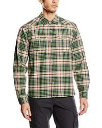 Camisa de manga larga verde oliva de Schöffel