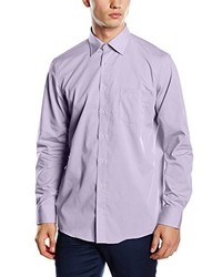 Camisa de manga larga violeta claro de Casamoda