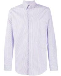 Camisa de manga larga violeta claro de Fendi