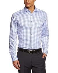 Camisa de manga larga violeta claro de Jacques Britt