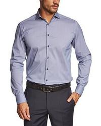 Camisa de manga larga violeta claro de Roy Robson