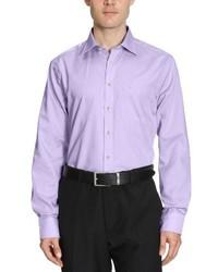 Camisa de manga larga violeta claro de Seidensticker