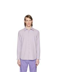 Camisa de manga larga violeta claro de Tibi