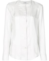 Camisa de seda blanca de Jil Sander