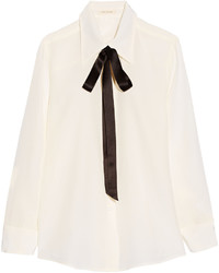 Camisa de seda blanca de Marc Jacobs
