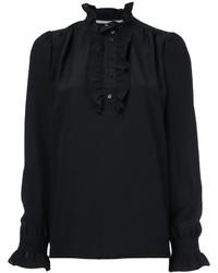 Camisa de seda negra de Stella McCartney