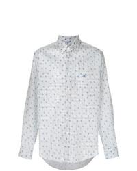 Camisa de vestir a cuadros blanca de Etro