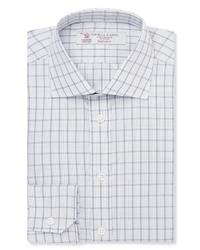Camisa de vestir a cuadros blanca de Turnbull & Asser