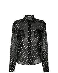 849f1c61fd7 Comprar una camisa de vestir a lunares negra: elegir camisas de ...