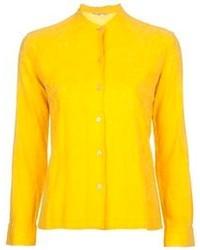 Camisa de vestir amarilla de Ken Scott