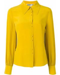 Camisa de vestir amarilla de MCQ