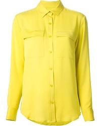 Camisa de vestir amarilla de MICHAEL Michael Kors