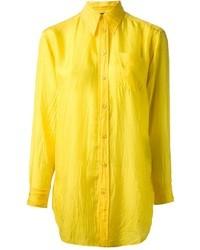 Camisa de vestir amarilla de Ralph Lauren