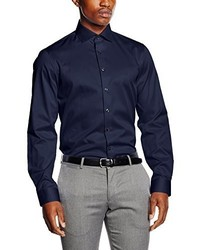 Camisa de vestir azul marino de Calvin Klein