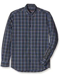 Camisa de vestir azul marino de Eterna