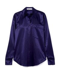 Camisa de vestir azul marino de See by Chloe