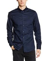 Camisa de vestir azul marino de Selected Homme
