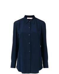 Camisa de vestir azul marino de Tory Burch
